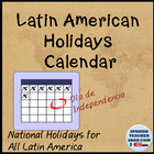 List of Latin American Holidays