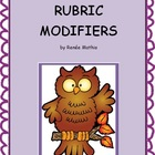 List of Rubric Modifiers