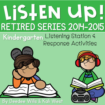 Listen UP!  2014-2015 BUNDLE Listening Station and Reading Response