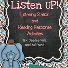 Listen UP!  Listening Station and Reading Response Unit-April