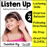 Listening Activities for Common Core~ Listen Up 2!