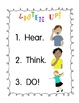 Listen Up!:  A Hear! Think! Do! Activity to Get Kids Liste