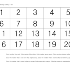 Listening Activity:  FREE Numbers 1-20 (for preschool, kin