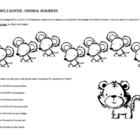 Listening Activity: Ordinal numbers (for preschool, kinder