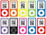 Listening Center Twist~QR Code reveals story for students~
