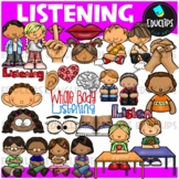 Listening Clip Art Bundle