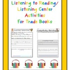 Listening to Reading/Listening Center Activities for 58 Tr
