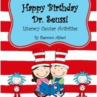 Literacy Activities for Read Across America {Seuss&#039; Birthday!}