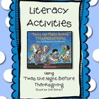 Literacy Activities for 'Twas the Night Before Thanksgiving