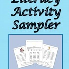 Literacy Activity Sampler