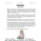 Literacy Backpack - Cookies