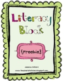 Literacy Block Planning Guide {Freebie}