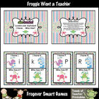 Literacy Center -- Alien Invasion Alphabet I Have... Who Has?