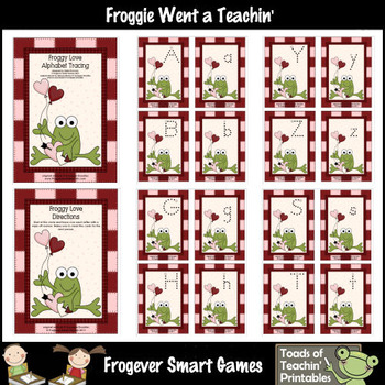 Literacy Center -- Froggy Love (alphabet)