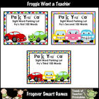 Literacy Center -- Park Your Car Sight Word Parking Lot Bu
