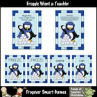 Literacy Center -- Penguin Pals Sight Words Level A