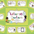 Literacy Center SmartBoard Display