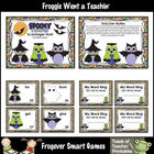 Literacy Center -- Spooky Hoots Scavenger Hunt (First 100 