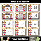 Literacy Center -- Supeheroes Blends & Digraphs (boy theme)