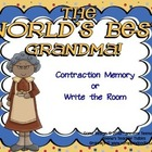 "Literacy Center Treasures Reading Series -Contractions ""Gr"