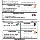 Literacy Centers Completion Chart for students Templates (2)