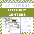 Literacy Centers for Intermediate Classrooms (50+!) {CCS aligned}