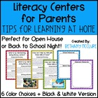 Literacy Centers for Parents: Tips &amp; Tricks for Learning at Home