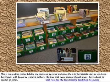 Literacy Classroom Tour in Pictures - MS PowerPoint 2007