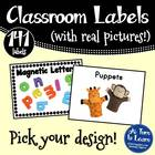 Literacy Manipulative Picture Labels