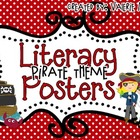 Literacy Posters: Pirate Theme