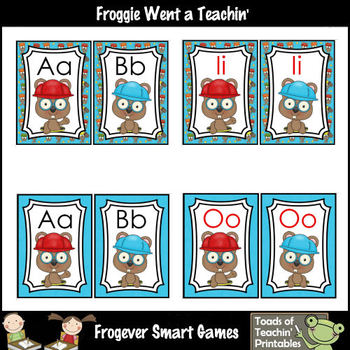 Literacy Resource -- Whack a Gopher Word Wall Headers  Var