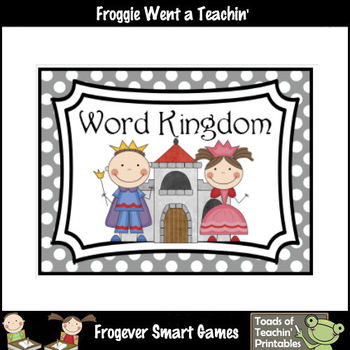 Literacy Resource -- Word Kingdom Word Wall Headers (small