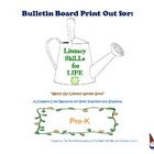 Literacy SkiLLs for LIFE : Bulletin Board PreK