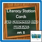 Literacy Station Cards for Grammar and Writing Set 2