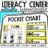 "Literacy Station ""I Can"" Task Cards"