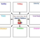 Literacy Station Organizer 