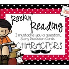 Literacy Station: Story Discussion Cards - Characters {Com