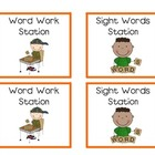 Literacy Stations / Centers Cards