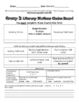 Literacy Stations Choice Boards