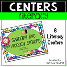 Literacy Stations - Springing into Literacy Station