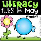 Literacy Tubs for May {10 Hands-On Literacy Tubs}