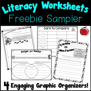 Literacy Worksheets for any book