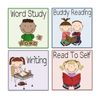 Literacy Workstation Labels