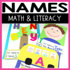 Literacy and Math Fun with Names