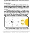 Literacy in Science (4 - 6) - Phases of the Moon