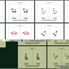 Literacy/Vocabulary/Montessori Nomenclature Cards: Farm Animals