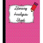 Literary Analysis Chart