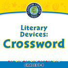Literary Devices: Crossword - MAC Gr. 3-8