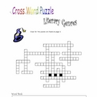 Literary Genres Crossword Puzzle