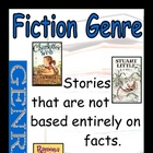 Literary Genres Poster Set